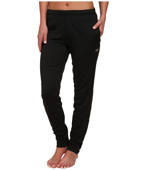 New Balance - Gazelle Knit Pants - Regular (Black) Women's Workout