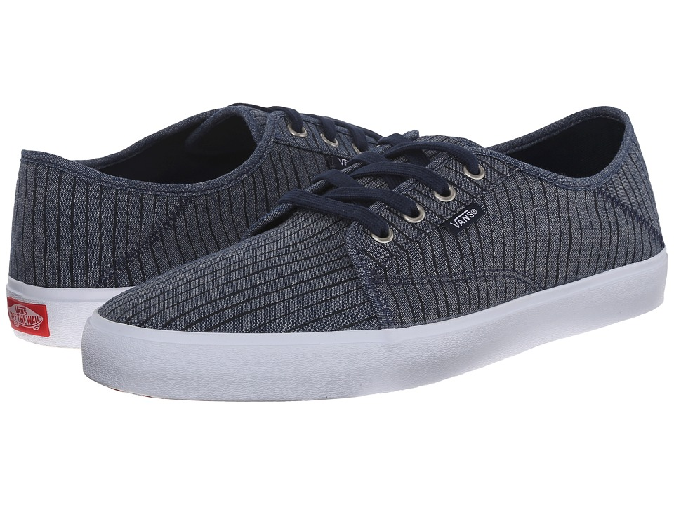 Vans - Costa Mesa SF ((Chambray Stripes) Dress Blues) Men's Shoes