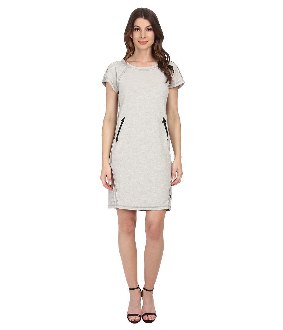 William Rast - Terry T-Shirt Dress (Heather Grey) Women