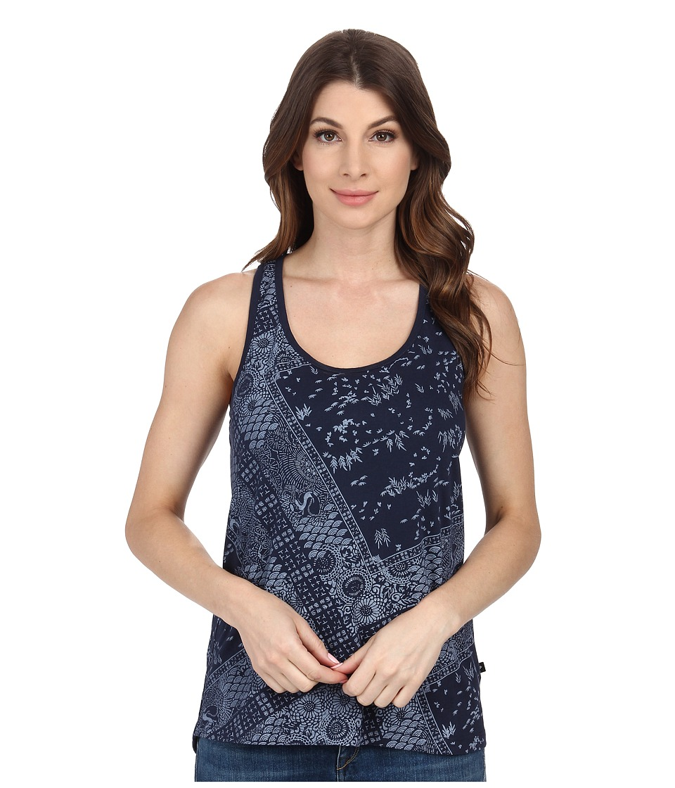 William Rast - Bandana Print Tank Top (Indigo) Women