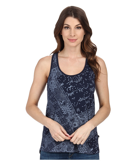 William Rast - Bandana Print Tank Top (Indigo) Women's Sleeveless