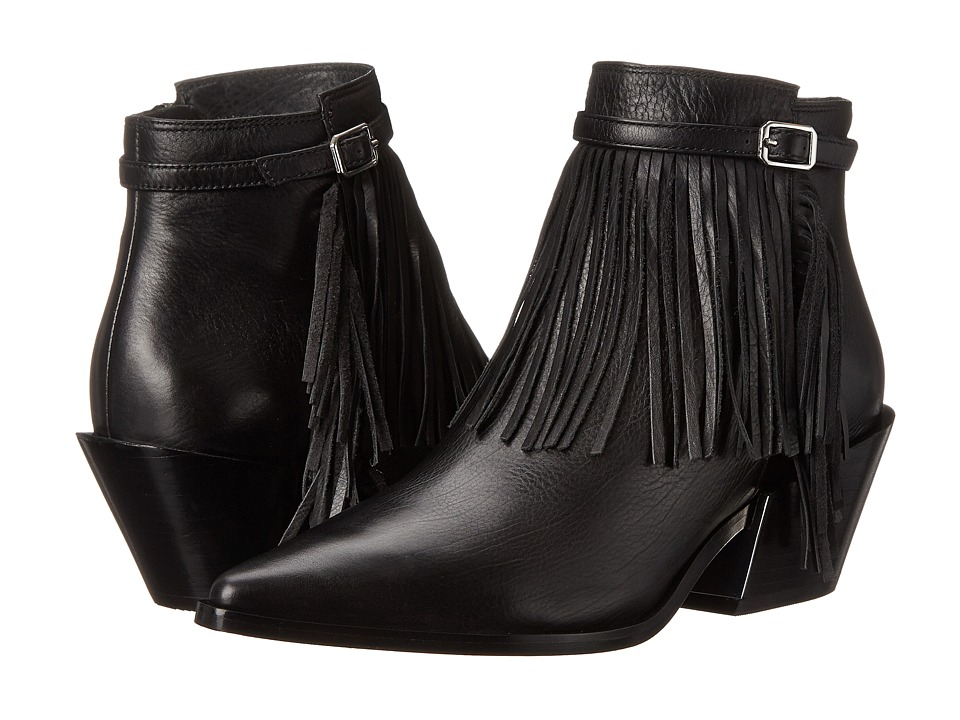 Sigerson Morrison - Lena (Black Leather) Women