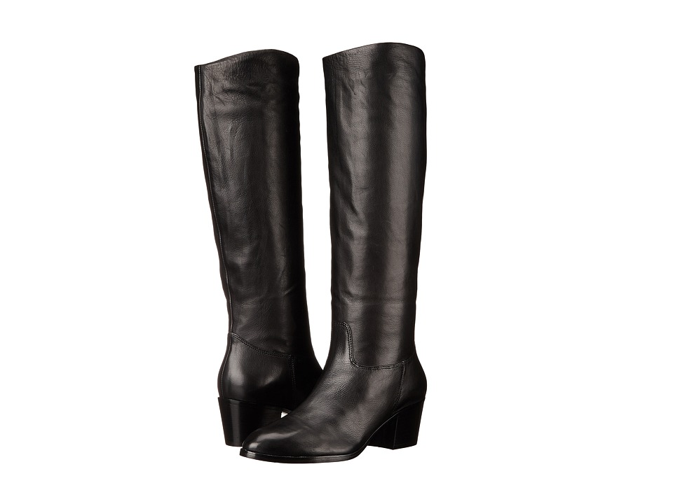 Sigerson Morrison - Kayden (Black Leather) Women