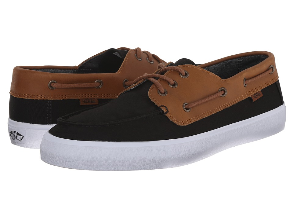 Vans - Chauffeur SF ((C&L) Black/Chambray) Men's Shoes