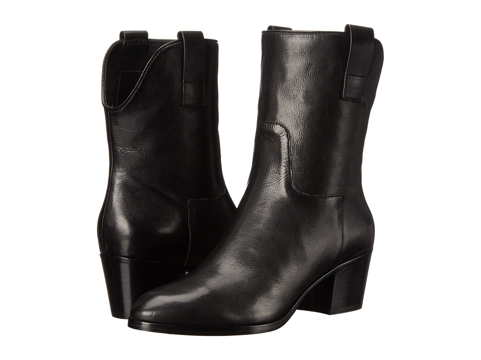 Sigerson Morrison Kimmy (Black Leather) Women