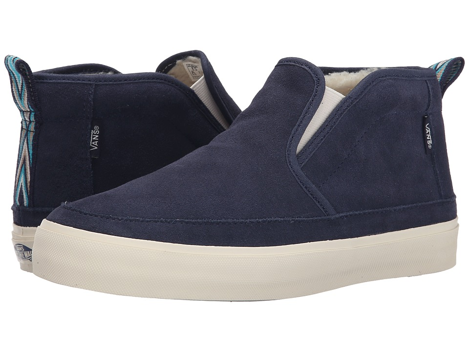 Vans - Mid Slip SF ((Fleece) Original Navy/Native) Women's Skate Shoes