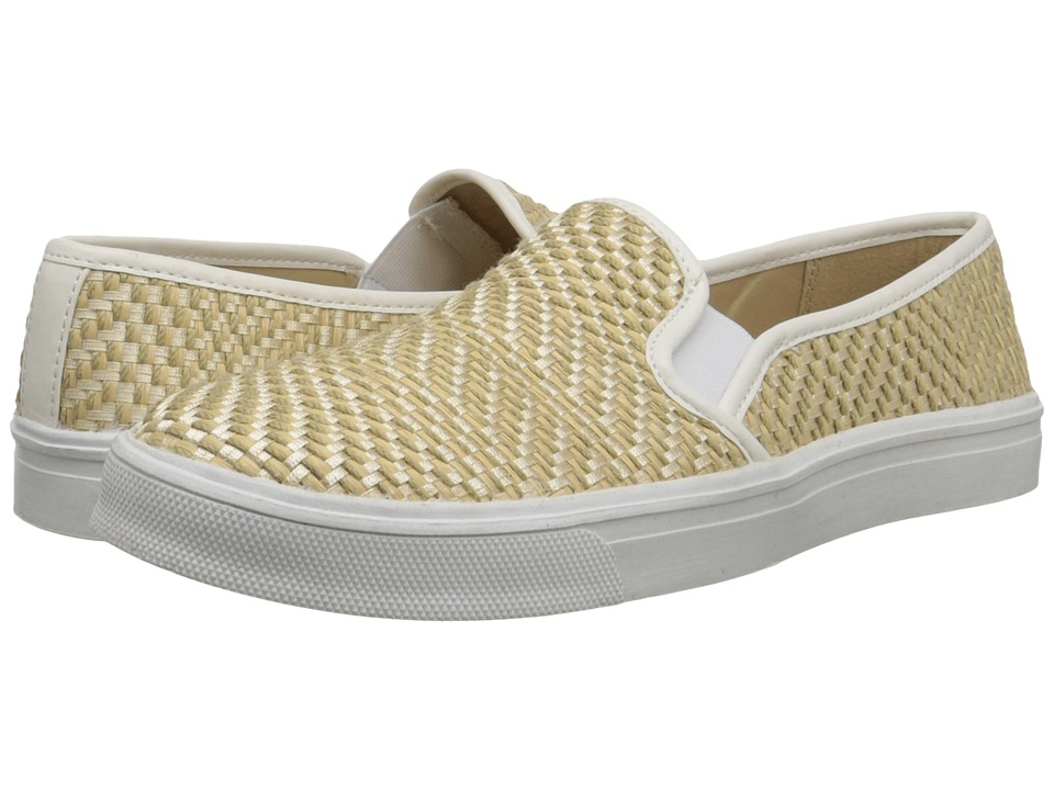 DV by Dolce Vita - Saraya (Natural Raffia) Women's Slip on Shoes