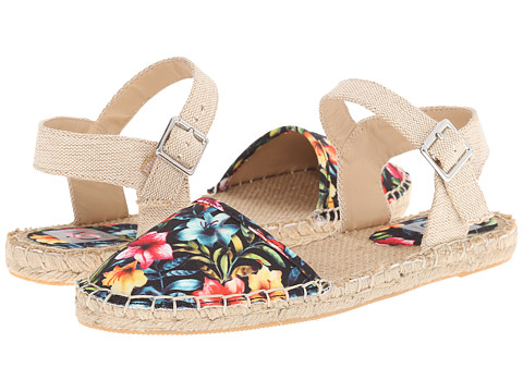 DV by Dolce Vita - Zenga (Tropical Floral Canvas) Women's Shoes