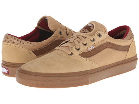Vans - Gilbert Crockett Pro (Tan/Dachshund/Gum) Men's Skate Shoes