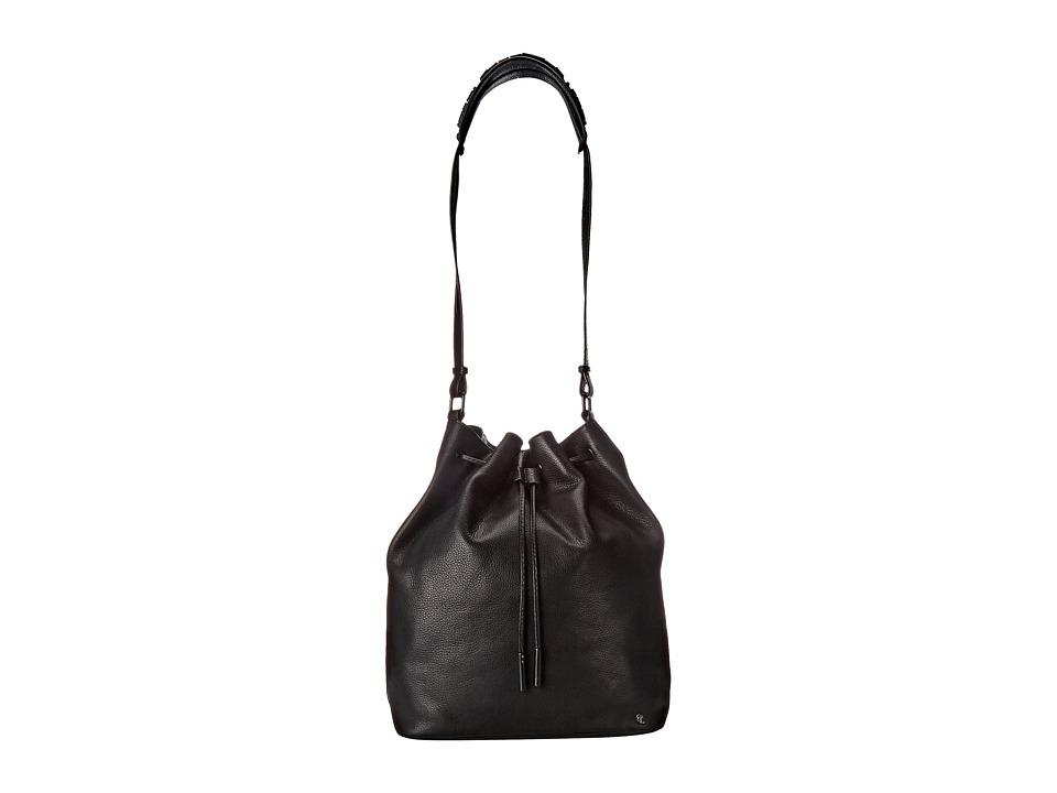 Elliott Lucca - Marion Medium Drawstring (Black) Drawstring Handbags