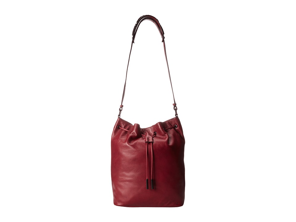 Elliott Lucca - Marion Medium Drawstring (Cabernet) Drawstring Handbags