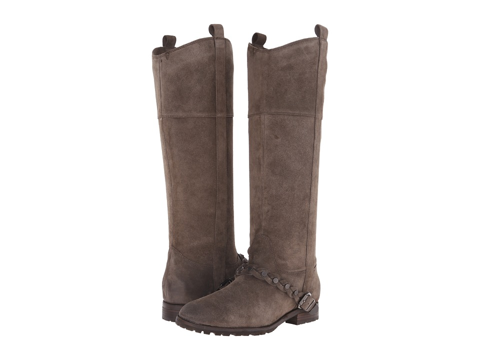 Image of Belle by Sigerson Morrison - Lyle (Vigogna Suede) Women's Pull-on Boots