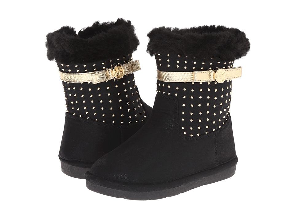 MICHAEL Michael Kors Kids - Grace Tiff-T (Toddler/Little Kid) (Black) Girl's Shoes