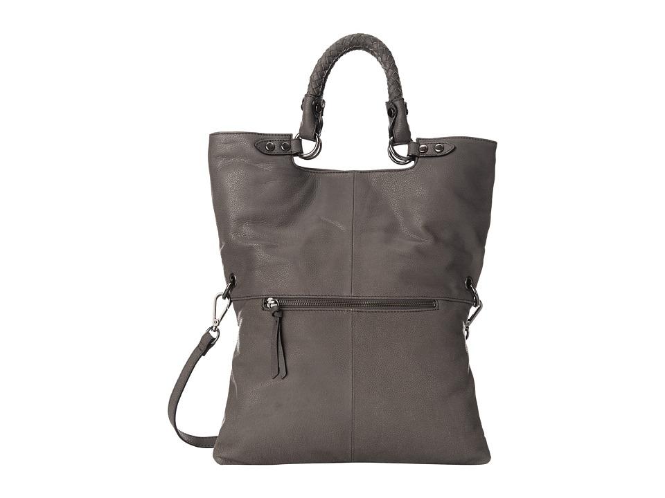 Elliott Lucca - Iara Crossbody Foldover Tote (Slate) Tote Handbags