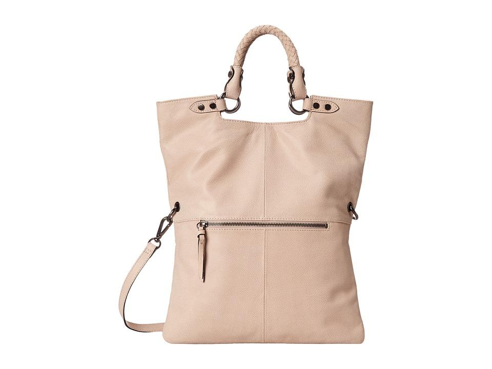 Elliott Lucca - Iara Crossbody Foldover Tote (Truffle) Tote Handbags