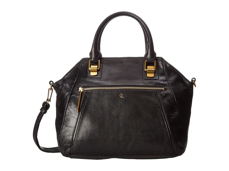 Elliott Lucca - Faro City Satchel (Black) Satchel Handbags