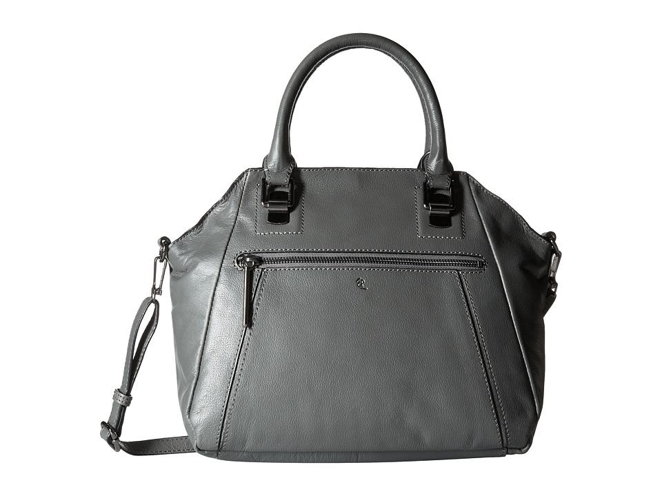 Elliott Lucca - Faro City Satchel (Slate) Satchel Handbags