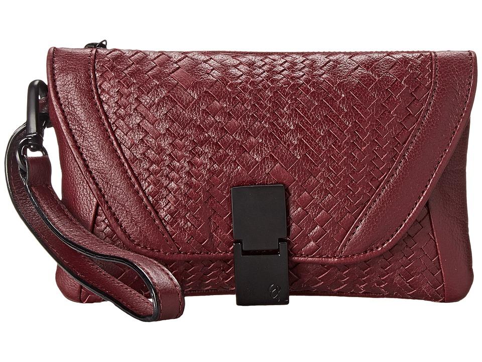 Elliott Lucca - Lucca Flap Wristlet (Cabernet) Wristlet Handbags