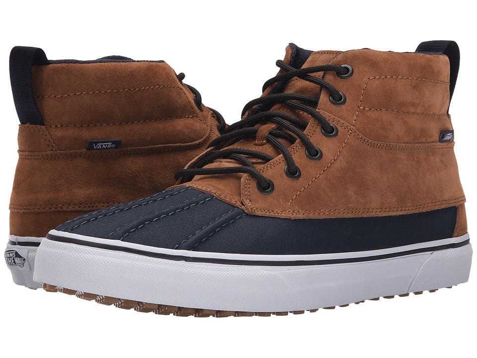 Vans - SK8-Hi Del Pato MTE ((MTE) Ginger/Navy) Skate Shoes