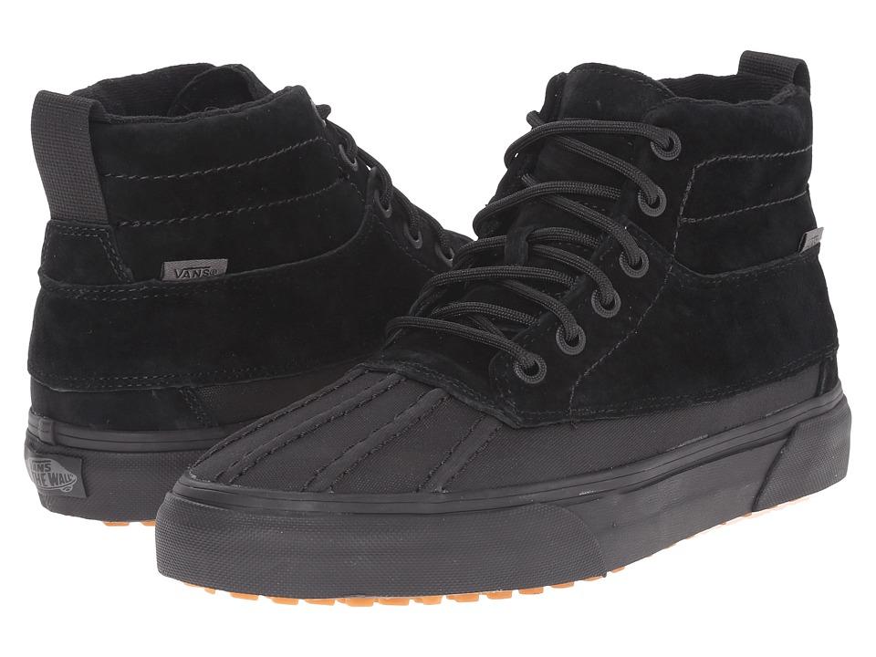 Vans - SK8-Hi Del Pato MTE ((MTE) Black/Black) Skate Shoes