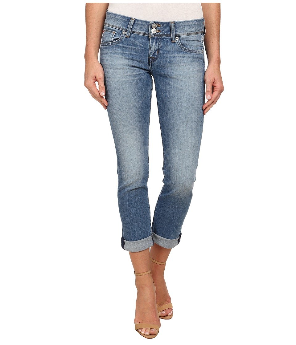 Hudson - Ginny Straight Ankle Jeans w/ Cuff in Hot Springs (Hot Springs) Women's Jeans