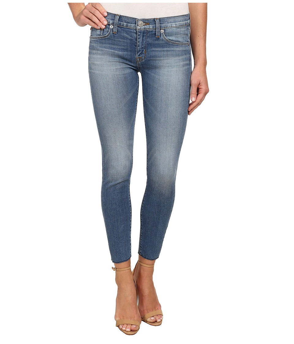 Hudson - Krista Super Skinny Raw Hem Jeans in Hot Springs (Hot Springs) Women's Jeans