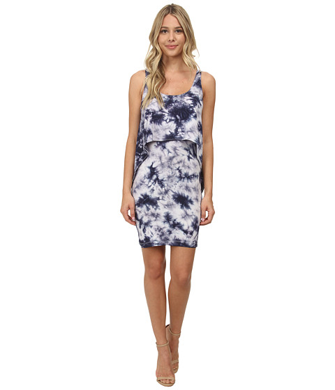 Tart - Kit Dress (Navy Tie-Dye) Women's Dress