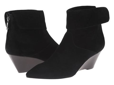 Belle by Sigerson Morrison - Waynelee (Black Suede) Women's Zip Boots