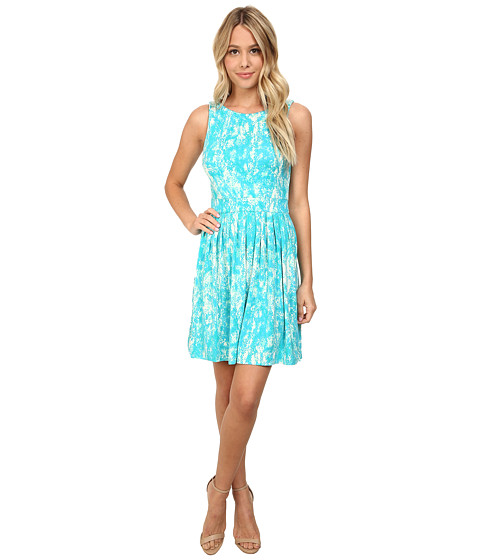 Tart - Brewster Dress (Pastel Blue Snake) Women's Dress