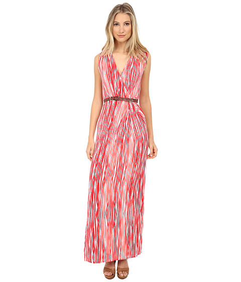 Tart - Charlandra Maxi (Coral Brush Stripe) Women