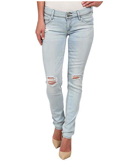 Hudson - Collin Skinny Distressed Jeans in Strata (Strata) Women