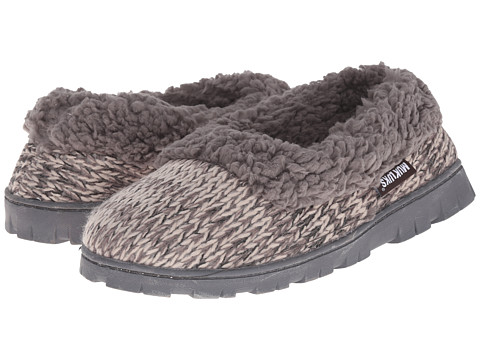 MUK LUKS - Full Foot Slipper (Grey) Women