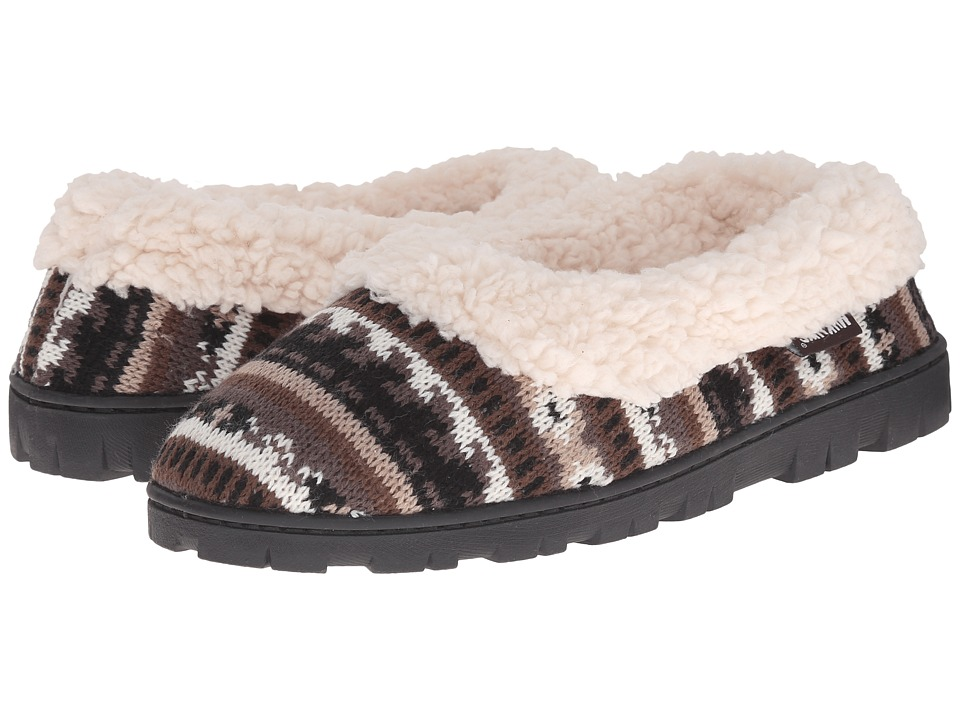 MUK LUKS - Full Foot Slipper (Natural) Women's Slippers