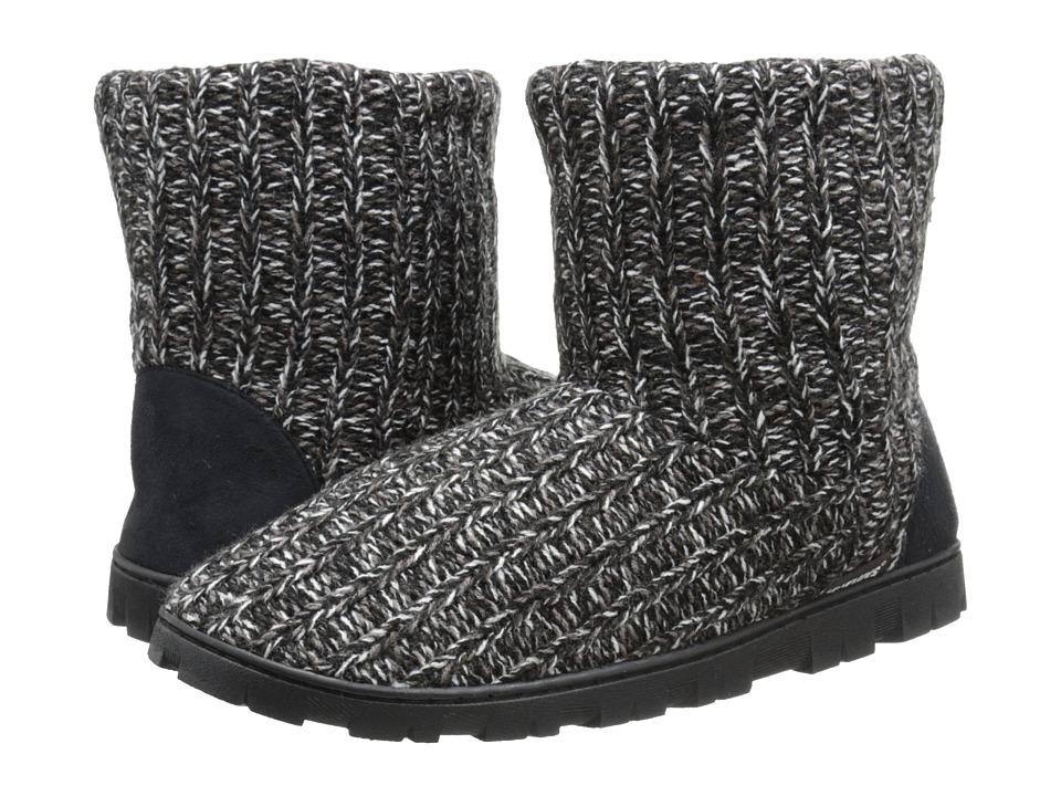 MUK LUKS - Lug Boot (Black) Women's Pull-on Boots