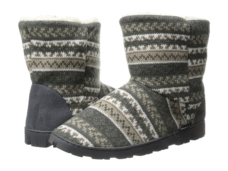 MUK LUKS - Lug Boot (Grey) Women