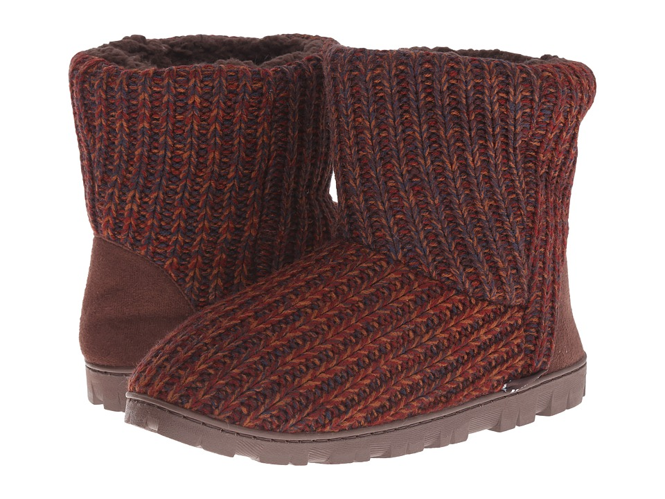 MUK LUKS - Lug Boot (Brown 1) Women