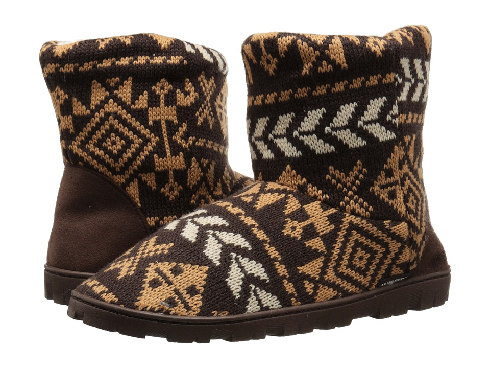 MUK LUKS - Lug Boot (Brown) Women
