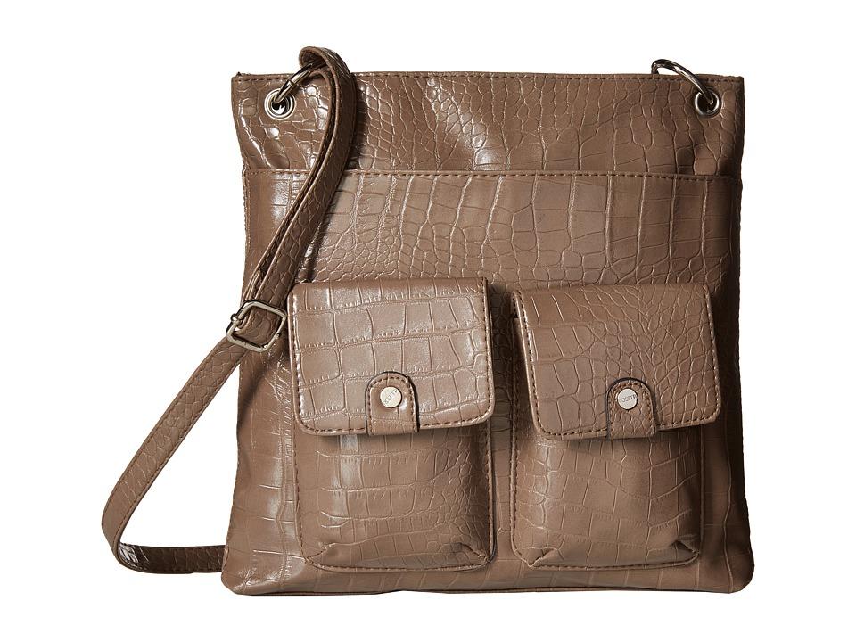 Rosetti - Pippa Crossbody (Pewter) Cross Body Handbags