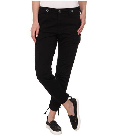 Hudson - Rowan Slouchy Skinny Cargo Pants in Black (Black) Women