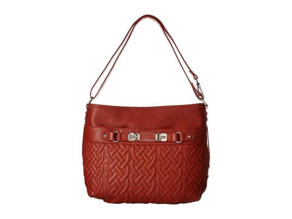 Rosetti - Twist It Up Convertible Hobo (Auburn) Hobo Handbags