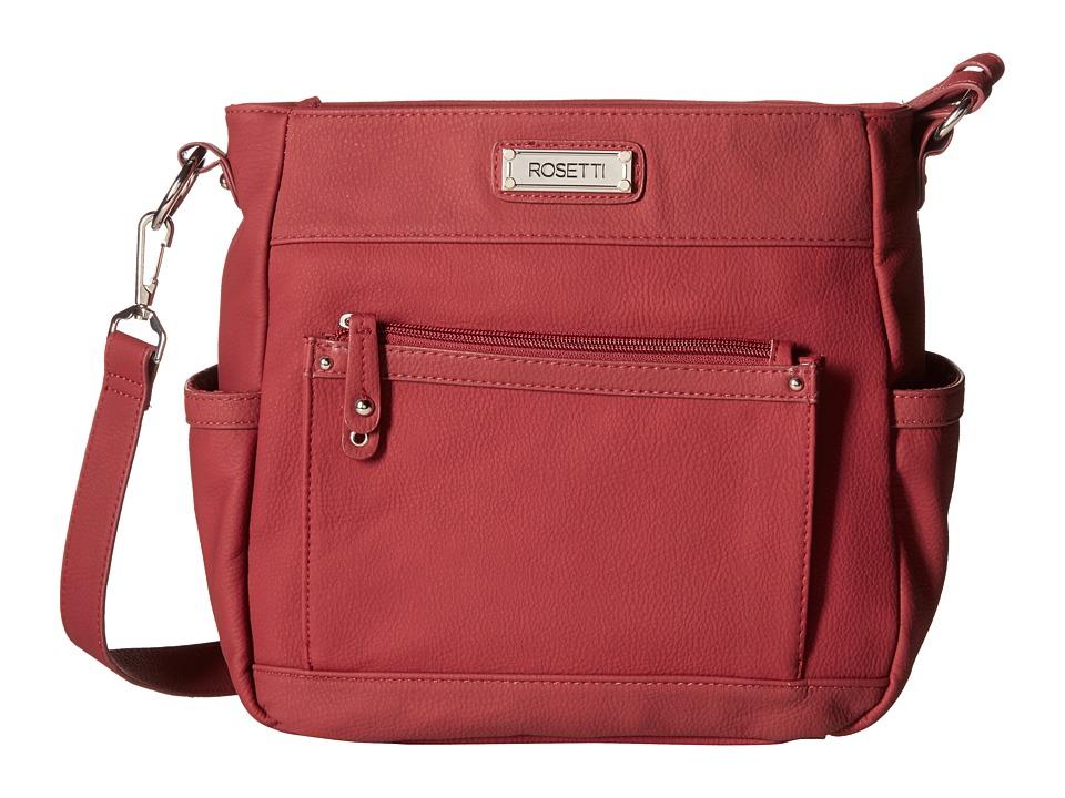 Rosetti - Sooner Or Layer Convertible Hobo (Cardinal) Hobo Handbags