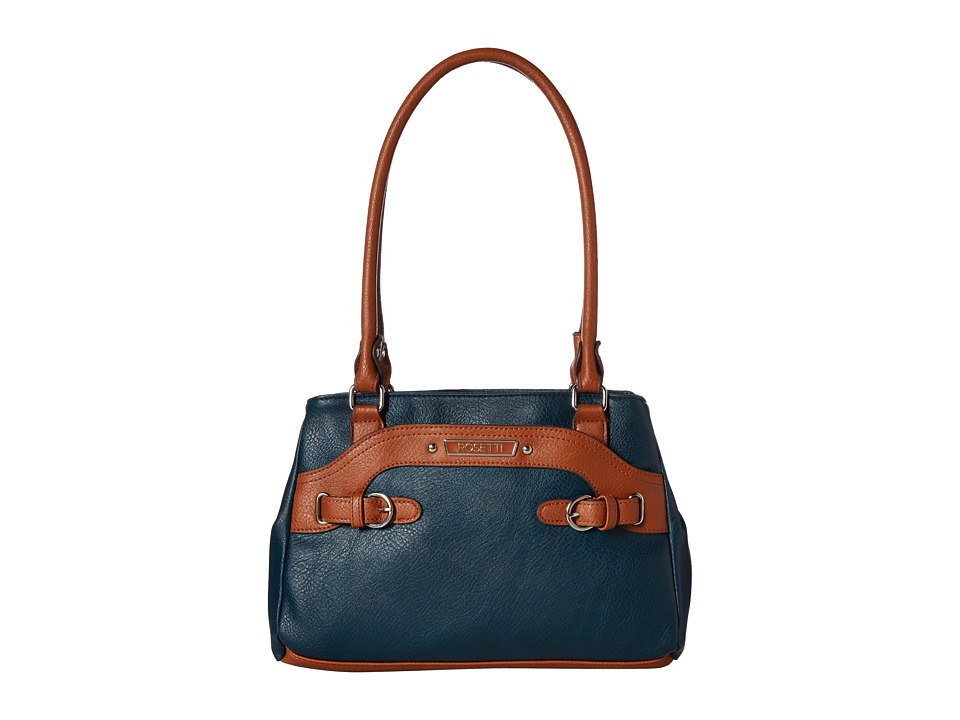Rosetti - Farrah Two-Tone Satchel (Storm) Satchel Handbags