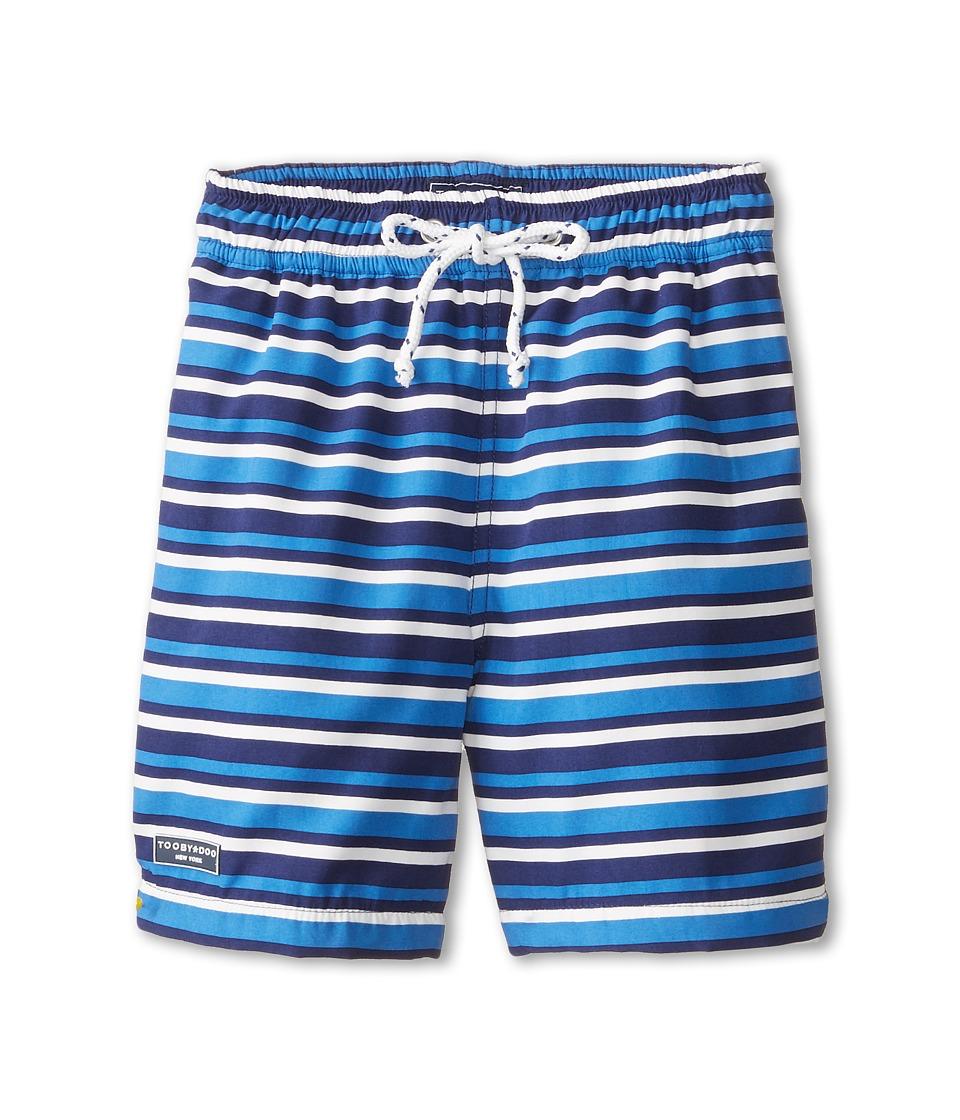 Toobydoo - Biarritz Swim Shorts (Infant/Toddler/Little Kids/Big Kids) (Blue) Boy's Swimwear