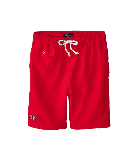 Toobydoo - The Cap Ferrat Swim Shorts (Infant/Toddler/Little Kids/Big Kids) (Red) Boy