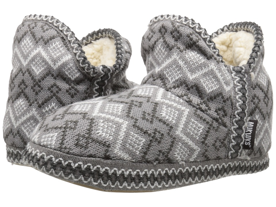 MUK LUKS - Amira Nordic (Grey 1) Women's Pull-on Boots