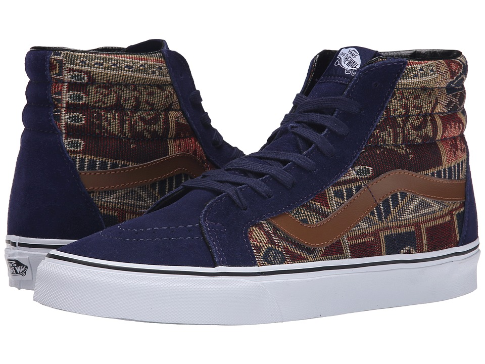 Vans - SK8-Hi Reissue ((Geo Weave) Eclipse) Skate Shoes