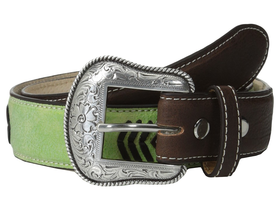 M&F Western - Concho Belt (Little Kids/Big Kids) (Green) Men's Belts