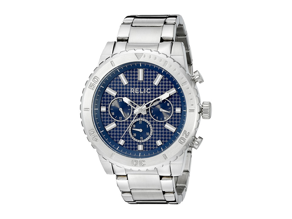 Relic - Jordan (Silver/Blue) Watches