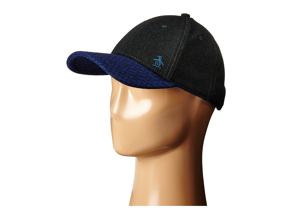 Original Penguin - Wool Baseball Cap (Black) Baseball Caps