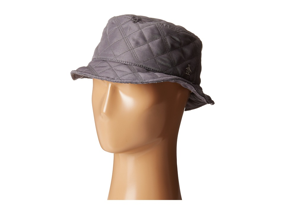 Original Penguin - Quilted Nylon Bucket Hat (Eiffel Tower) Bucket Caps